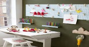 rangement sur bureau bureaux pour enfant déco et astucieux