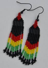 reggae earrings you ll need these earrings for your next reggae festival