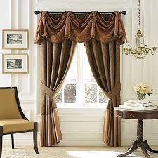 Bed Bath And Beyond Window Valances Croscill Couture Palazzo Window Curtain Panel And Valance Bed