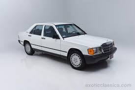 1985 mercedes benz 190 class 190e 2 3 exotic and classic car