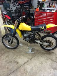 79 rm125 build old moto motocross forums message