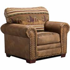 Leather Animal Ottoman by American Furniture Classics Wild Horses 4 Piece Set Walmart Com