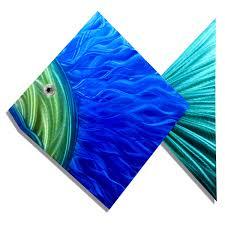 Tropical Fish Home Decor Metal Fish Wall Art Metal Fish Art Wall Decor Digs Decor Provide
