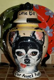 custom chihuahua urn for dogs and cats ashes medium sized for pet