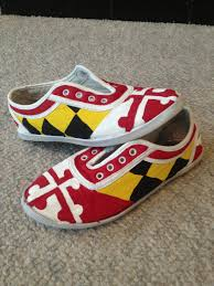 Calvert County Flag Diy Maryland Flag Shoes Crafty Pinterest Maryland And Flags