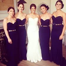bridesmaids wedding dresses best 25 strapless bridesmaid dresses ideas on wedding