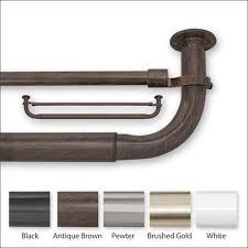 Curtain And Rod Blockaide Adjustable Curtain Rod Set At Brookstone Buy Now