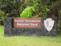 Hawaii national parks images Entrance to the park sign picture of hawaii volcanoes national jpg