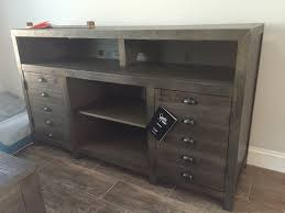 keeblen grayish brown extra large tv stand from ashley w678 20
