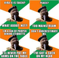Ira Meme - a meme is born real ira man broadsheet ie
