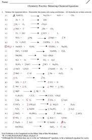 balancing chemical equations worksheet key phoenixpayday com