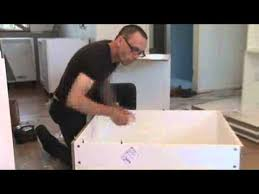 Kitchen Cabinet Carcases How To Assemble And Install A Corner Cabinet Carcass Kit Youtube