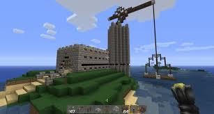 small pirate castle w crane minecraft project