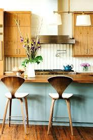 mid century modern metal kitchen cabinets wood vintage