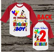 mickey mouse birthday ideas mickey mouse clubhouse birthday shirt best 25 mickey mouse
