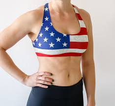 Texas Flag Swimsuit Sports Bra Product Categories Born Primitive