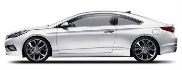 hyundai sonata coupe render how a hyundai sonata coupe will look the car