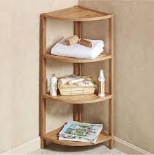 Bathroom Corner Storage Of Corner Shelves Designs Ideas And Decors How To Build Inside