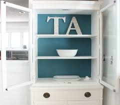 diy hutch chalk paint makeover the happy housewife home