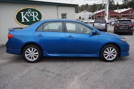 2010 toyota corolla s blue 2010 toyota corolla s in maine for sale used cars on buysellsearch