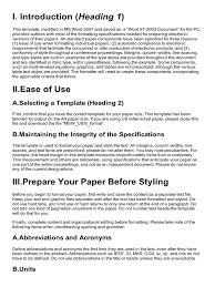 how to write an ieee paper ieee document paper presentation bracket note typography