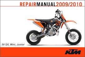 ktm 2009 2010 50 sx sx mini sx junior repair manual cyclepedia