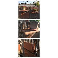 regal balkon on shelf regal für den balkon ihr braucht 1 brett 2