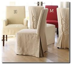 Slipcover For Dining Room Chairs Pottery Barn Dining Room Chairs Slipcovers Dining Room Ideas