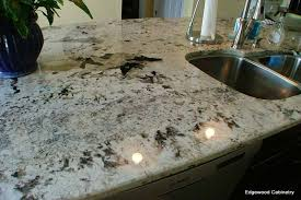 Marble Vs Granite Kitchen Countertops by Choosing Your New Stone Countertops Edgewood Cabinetry