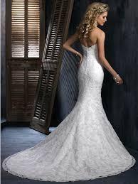 meerjungfrau brautkleid glamorous lace trägerlos sweetheart meerjungfrau brautkleid wm