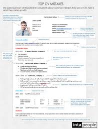 top cv mistakes how to write the perfect cv