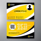 Plasma Design Business Cards Name Tag For Id Card With Special Plasma Design U2014 Stock Vector