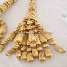 Gold Curtain Tassels New Design Beads Gold Borlas Con Bolitas Tassels Spanish Tassels