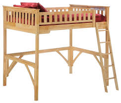 night and day ginger loft bunk bed traditional loft beds by