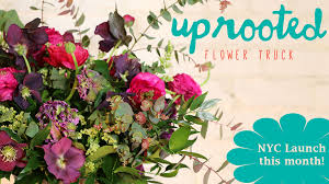 flowers nyc uprooted flower truck nyc launch by custer kickstarter