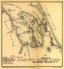 Map Of Outer Banks Island North Carolina