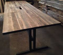 wood conference tables for sale reclaimed wood tables