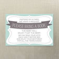 bring book instead of card to baby shower baby shower book request baby shower invite print at home