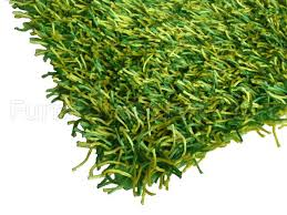 Modern Shaggy Rugs Modern Green Yellow Shaggy Rug