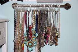 make necklace holder images Related keywords suggestions for homemade jewelry holder organize jpg