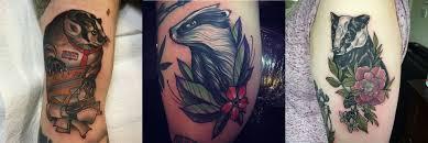 13 eccentric badger tattoos u2013 staciemayer com