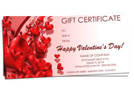 holiday gift certificate templates easy to use gift certificates