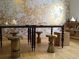 metallic marble wallpaper by calico wallpaper design milk