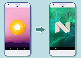 android nexus android oreo to nougat on nexus and pixel