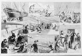 life on board immigrant ship sketch nzhistory new zealand