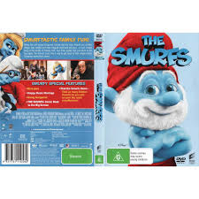 the smurfs the smurfs big face packaging dvd big w