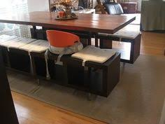 booster seat for bench table awesome diy dining benches made from shelving units dining bench