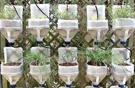 Bottle Garden Ideas Diy Recycled Plastic Bottles For Garden Decor Recycled Things
