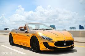 maserati turismo gold maserati grancabrio gets the gold treatment by velos designwerks