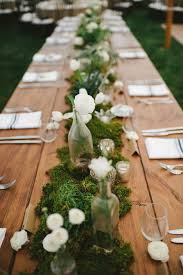 holiday table runner ideas moss table runner ideas green party on christmas table runner pine